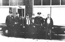 Duck Bowman, Leroy Ledford, Calvin Williams, Bob Bruner and Joe Clark 1959