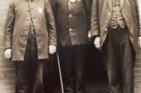 Early 1900s Tom Haydon, Chief A. M. Smith and Lacy Stolts
