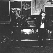 Leroy Ledfors and Chief Bob Bruner, 1947