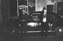 Leroy Ledfors and Chief Bob Bruner, 1947