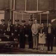 Archie Webb, Walter Lowry, Donald (Red) Crawford, Buddy Hammond, Duck Bowman, Pat Burton, Judge Brumfield Delores Elkins, Joe Clark, Chief Bob Bruner, 1960